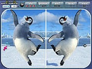 Happy feet spot the difference online